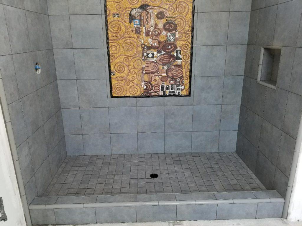 Shower Stall in Bathroom