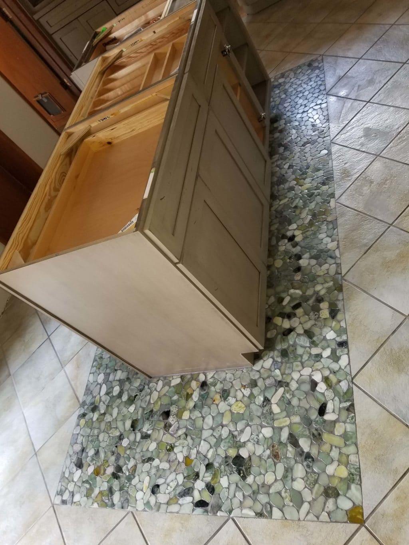 Pebble Tile Inlay
