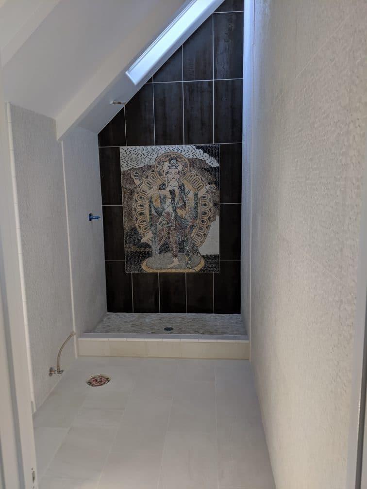 Master bathroom in Rancho Santa Fe